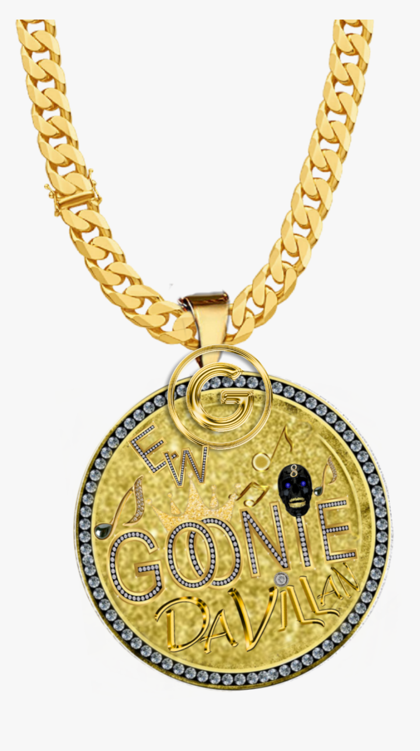 #goonie #goon #diamond #gold #chain #necklace #gmst - Thug Life Chain Png, Transparent Png, Free Download