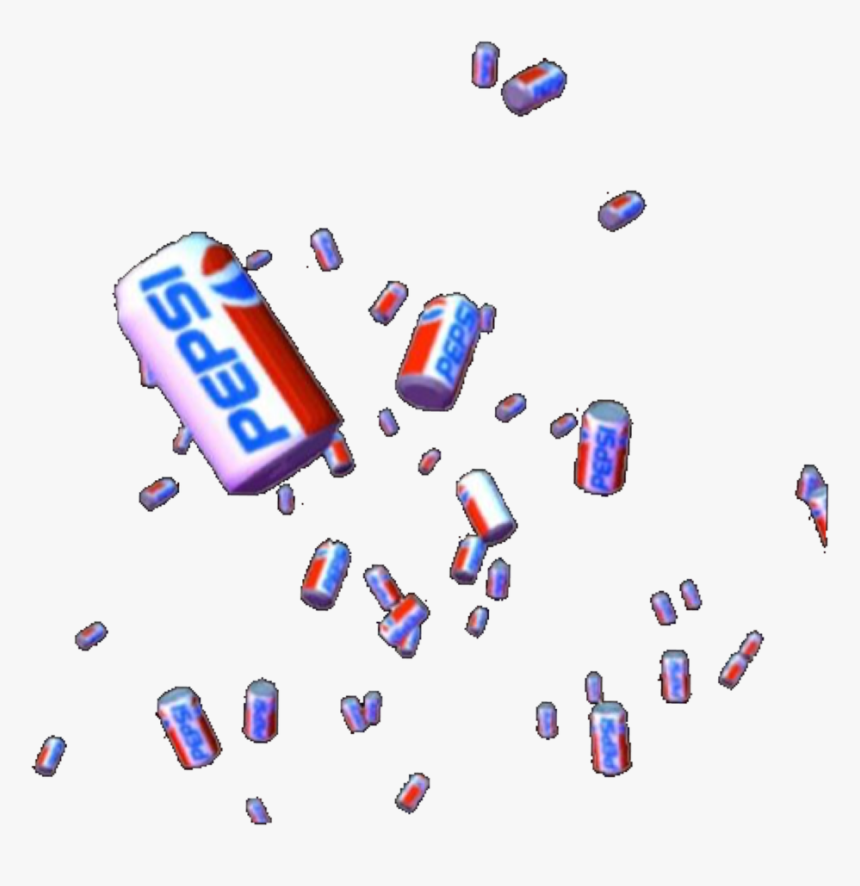 #raining #pepsi #soda #bottle #bottles #can #cans #drink - Pepsi Aesthetic Png, Transparent Png, Free Download