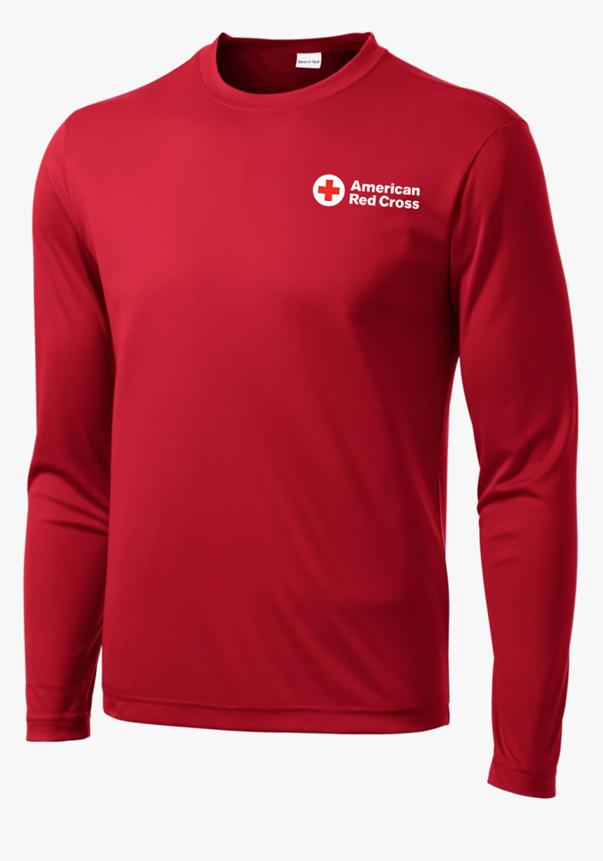 Red - Long-sleeved T-shirt, HD Png Download, Free Download