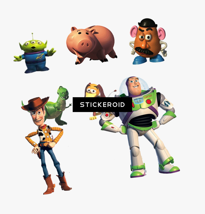 Toy Story Characters Disney Clipart , Png Download - Toy Story 4 Characters Png, Transparent Png, Free Download