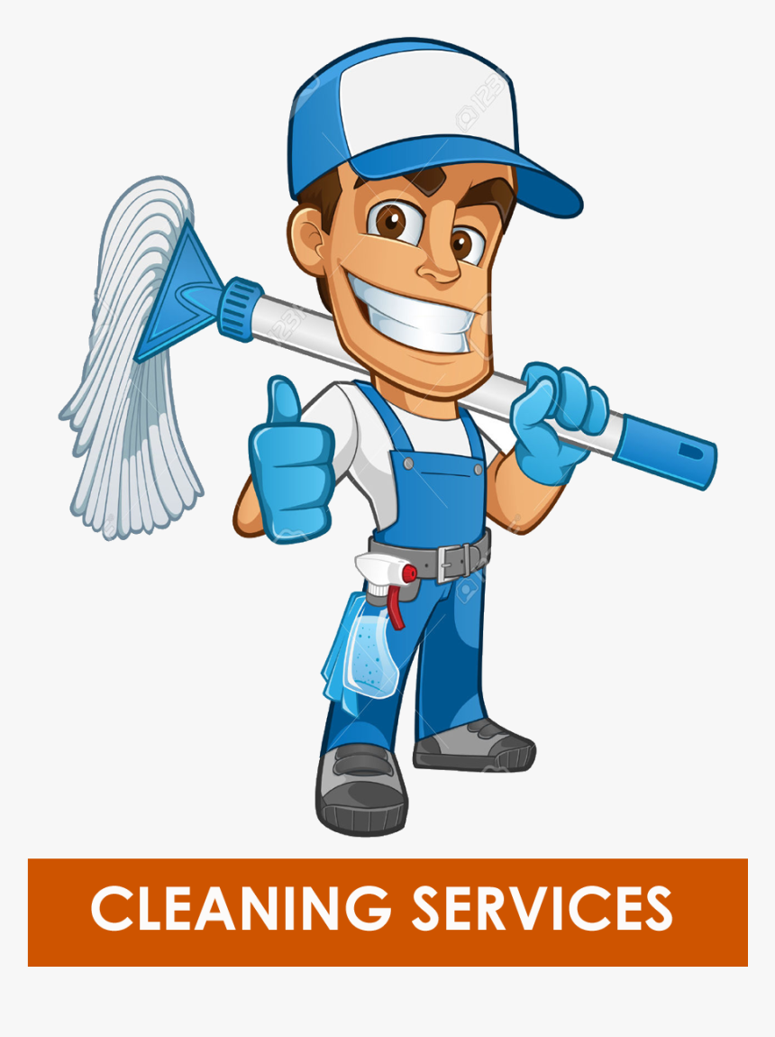 Library Of Man Cleaning House Library Png Files - Window Cleaner Broom Clipart, Transparent Png, Free Download