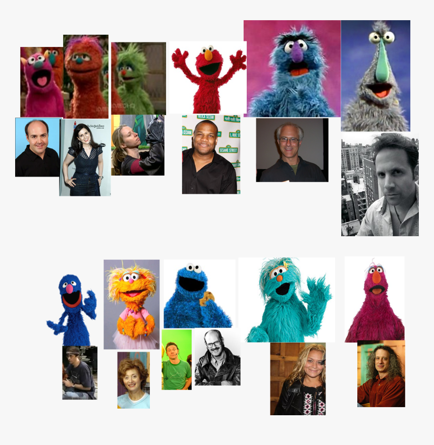 Muppet Wiki Behind The Scenes Sesame Street C Is For - Sesame Street Behind The Scenes Muppet, HD Png Download, Free Download