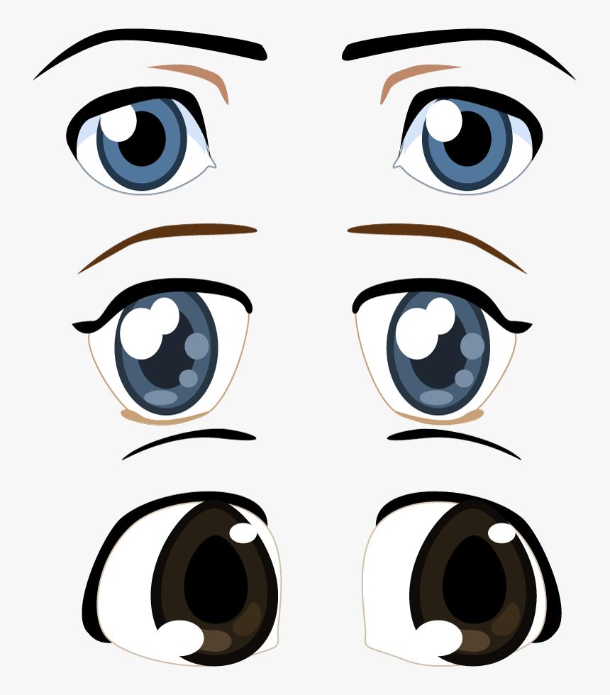Render Autres Inconnu Rende Draw Anime Eyes Hd Png Download Kindpng