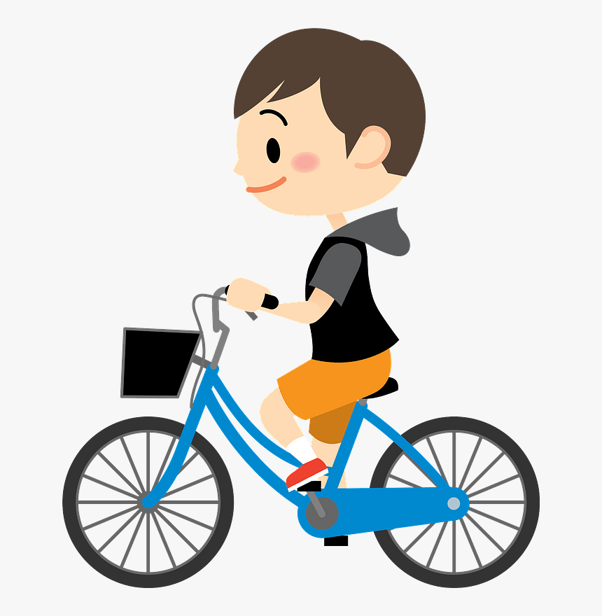 Child Boy Bicycle Cycling Clipart - Comfort Active Sprick Letgo ...