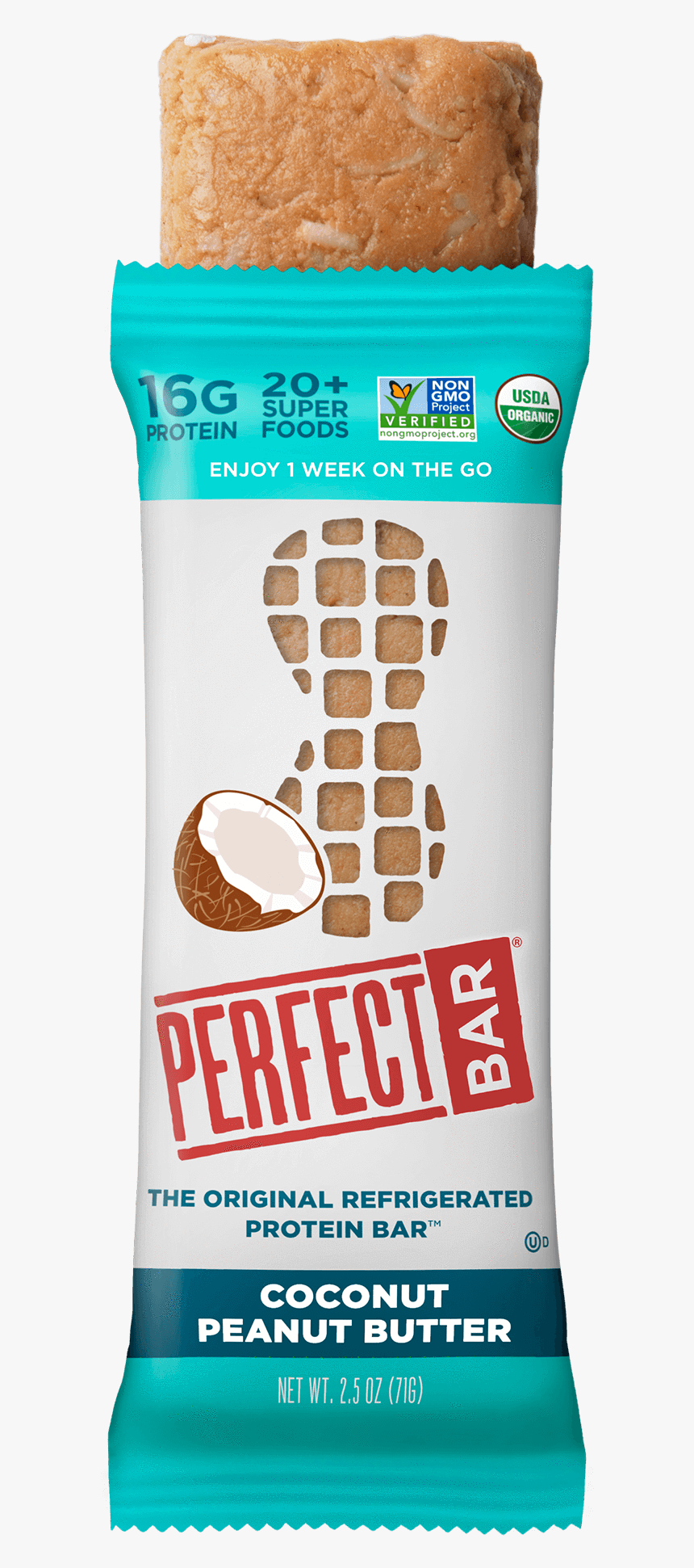Perfect Bar Peanut Butter, HD Png Download, Free Download