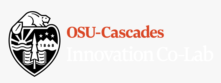 Osu Cascades Innovation Co Lab - Oregon State University Cascades Logo, HD Png Download, Free Download