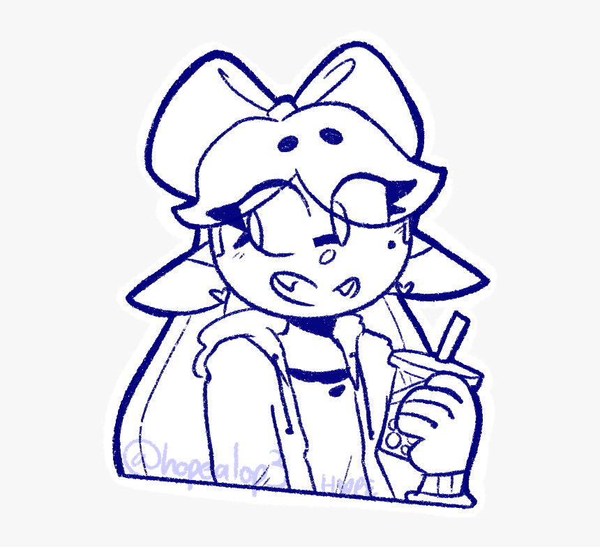 Callie From My Commission Sheet I Might Revisit Her - Cartoon, HD Png Download, Free Download