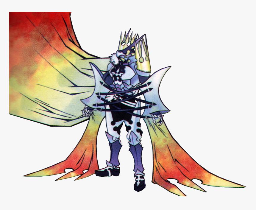 Image Xemnas Armor Form Art Khii Png Kingdom Hearts - Kingdom Hearts 2 Nobody King, Transparent Png, Free Download