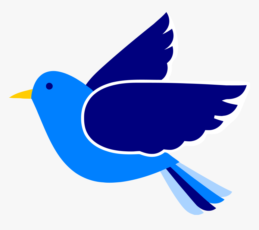 Blue Bird Clipart Png - Bird Clipart Free, Transparent Png, Free Download