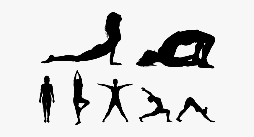 Yoga Silhouette Royalty Free Clip Art Vector Png Images Yoga Transparent Png Kindpng