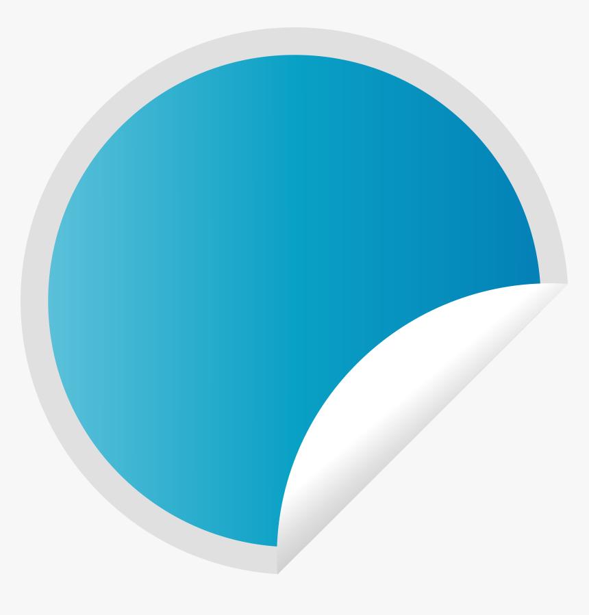 Peeling Blue Sticker - Peeling Sticker, HD Png Download, Free Download