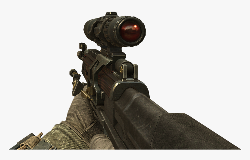 Black Ops 2 Sniper Png - Svu Bo2, Transparent Png, Free Download