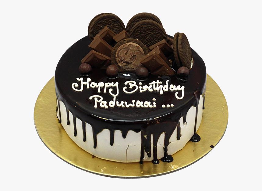 Miraculous Chocolate Cake With Oreo Cookie And Chocolate Bars Chocolate Birthday Cards Printable Trancafe Filternl