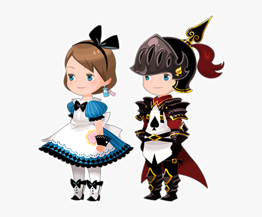 Avatar Parts Alice In Black / Playing Card Alice In - Kingdom Hearts Unchained X Avatars, HD Png Download, Free Download