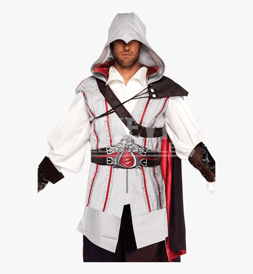 Mens Assassins Creed Ezio Costume Assassin Creed Ezio Costume Hd Png Download Kindpng