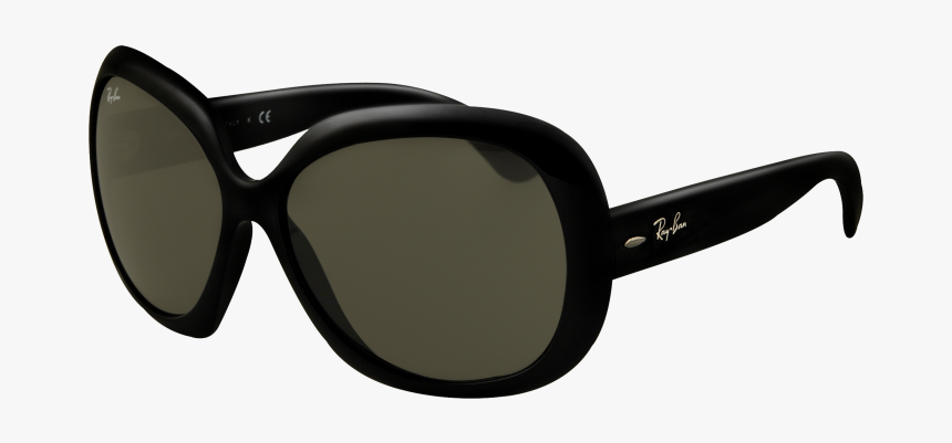 Oversized Black Ray Ban Sunglasses, HD Png Download, Free Download