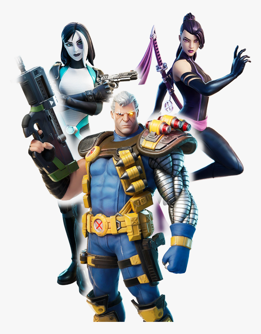 Skin Fortnite X Force, HD Png Download, Free Download