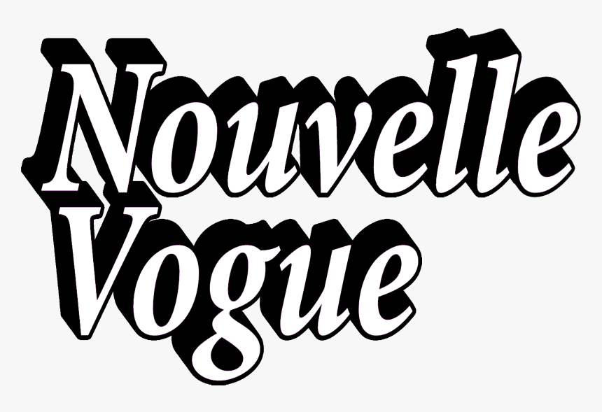 Nouvelle Vogue Creative & Fashion Web Magazine - Calligraphy, HD Png Download, Free Download