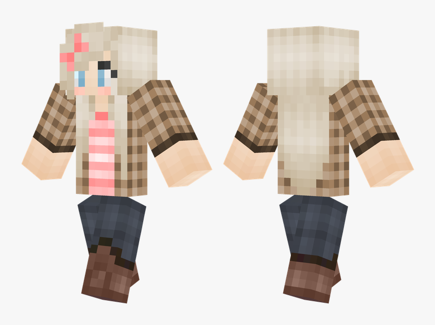 Winter Suit Minecraft Skin, HD Png Download, Free Download