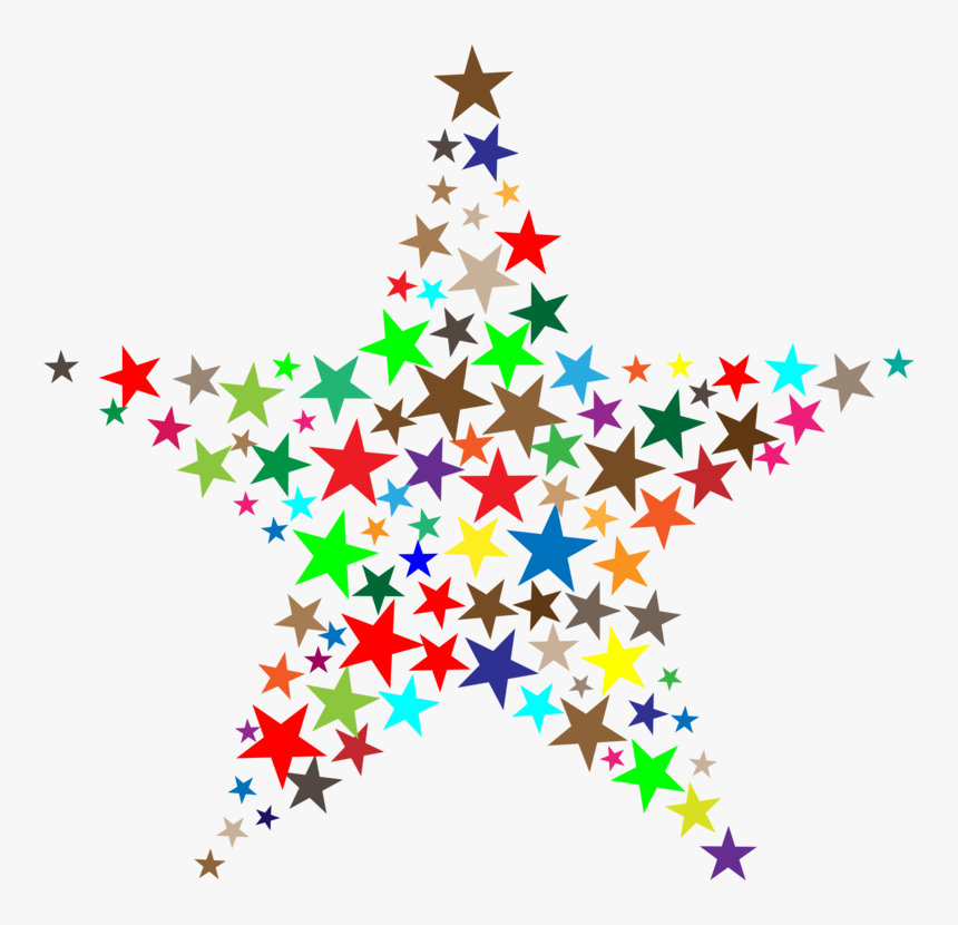 Transparent Christmas Tree Star Png - Clip Art Star Logo Black And White Christmas, Png Download, Free Download