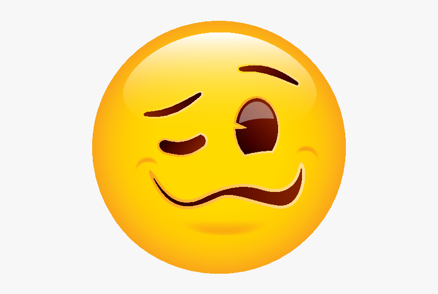 Woozy Face Emoji Png, Transparent Png, Free Download