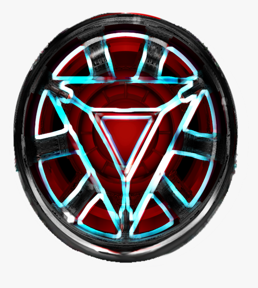 Drawing Arc Iron - Iron Man's Arc Reactor Drawing, HD Png Download, Free Download