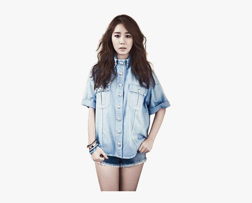 Yoo In Na Denim Shirt Clip Arts - Yoo In Na Png, Transparent Png, Free Download