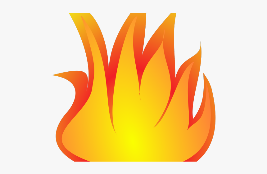 Flame Clipart Transparent Background - Fireplace Fire Clipart Png, Png Download, Free Download