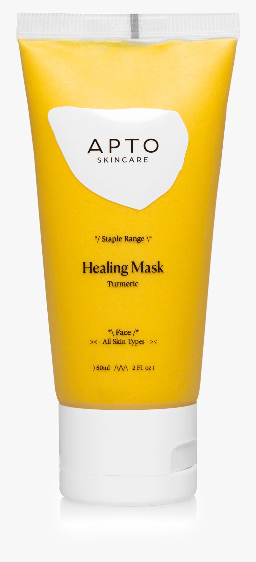Apto Skincare Healing Turmeric Mask Hd Png Download Kindpng