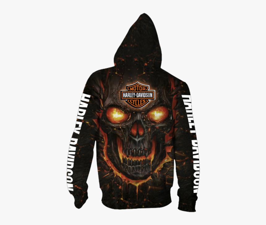 Harley Davidson Hoodies Cheap Long Sleeve Pullover - Hot Water Music Zip Up Hoodie, HD Png Download, Free Download