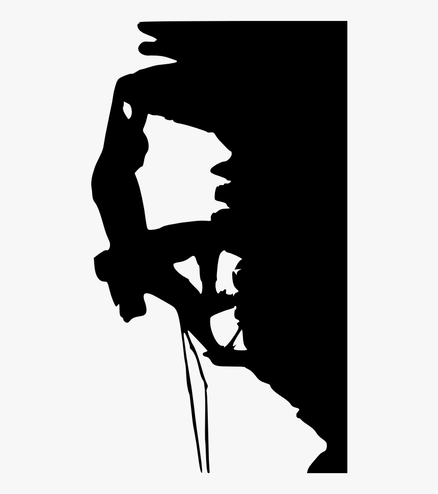 Person Rock Climbing Silhouette 2 Indoor Rock Climbing Clip Art Hd Png Download Kindpng