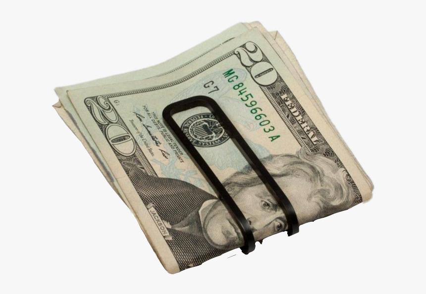 #money #cash #dough #dollar #bills #grunge #aesthetic - Money Clip, HD Png Download, Free Download