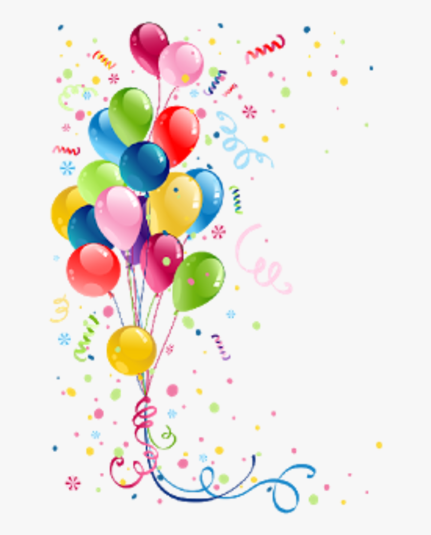Happy Birthday Balloons Clip Art Birthday Balloons Png Transparent Png Kindpng