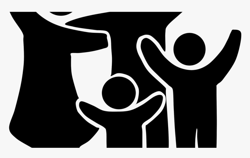 Family Clipart Black And White Family Clipart Png Black And White Transparent Png Kindpng