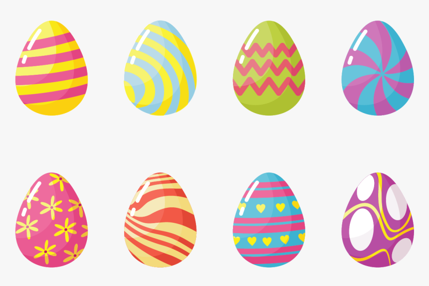 Easter Eggs Icons Vector - Easter Eggs Icon Vector, HD Png Download, Free Download