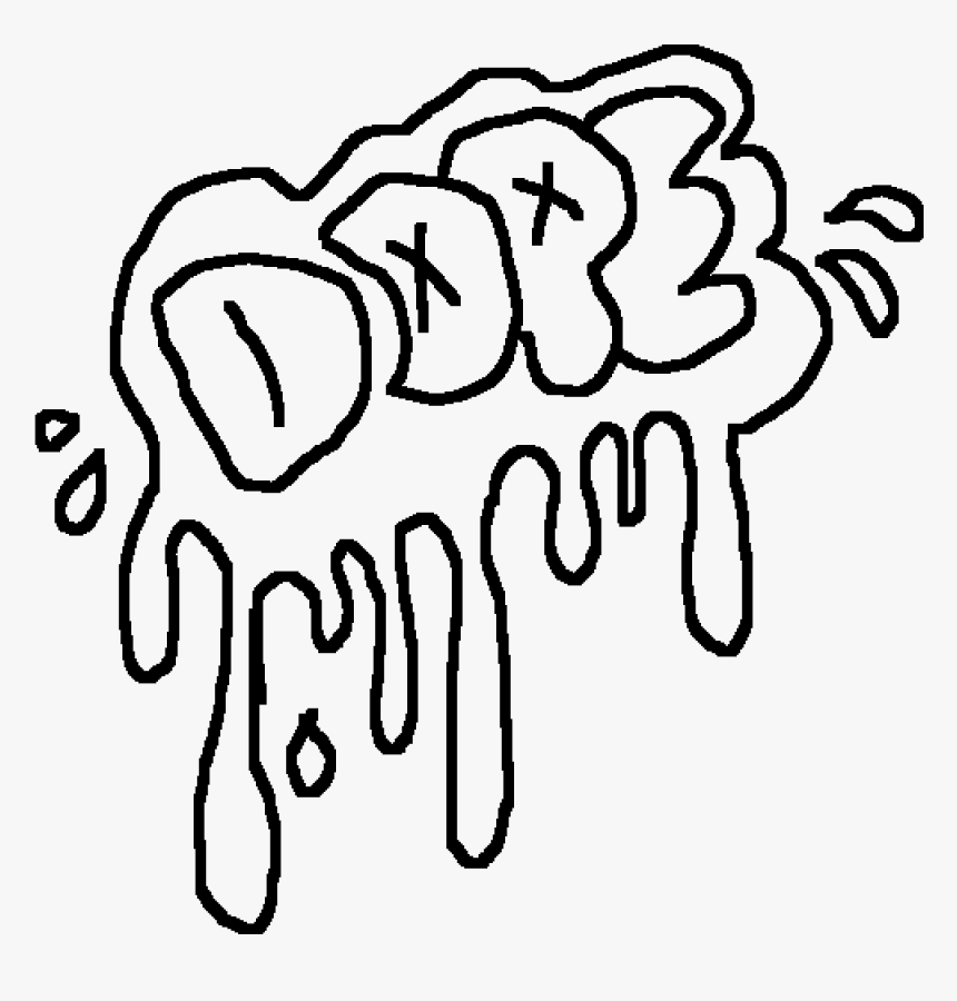 Transparent Clipart Danke - Cool Graffiti Coloring Pages, HD ...