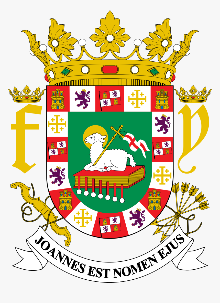 Puerto Rico Coat Of Arms, HD Png Download, Free Download