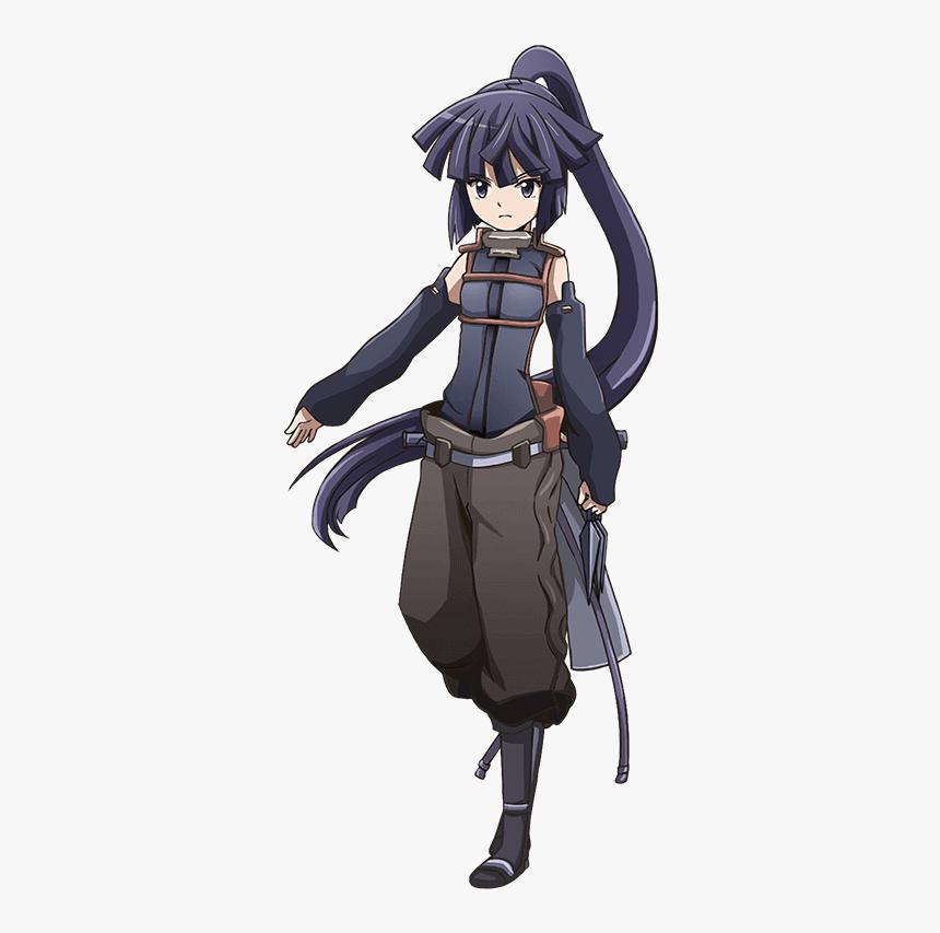 36 Purple Haired Anime Girls - Akatsuki Log Horizon Characters, HD Png Download, Free Download