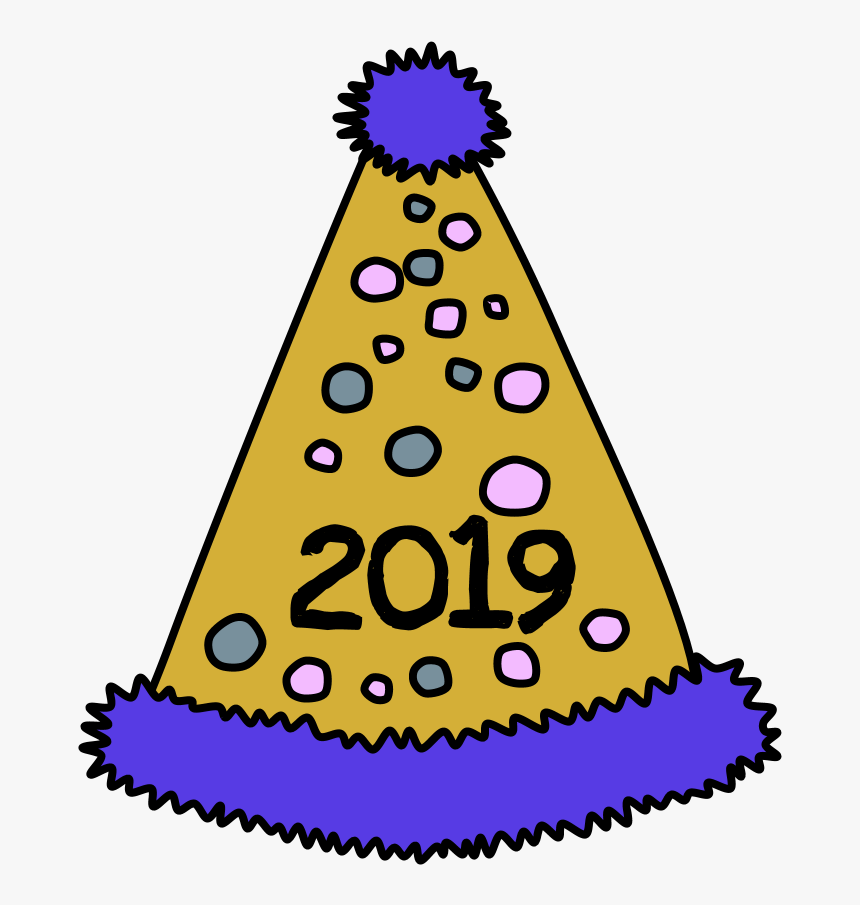 Party-hat - 2019 Party Hat Png, Transparent Png, Free Download