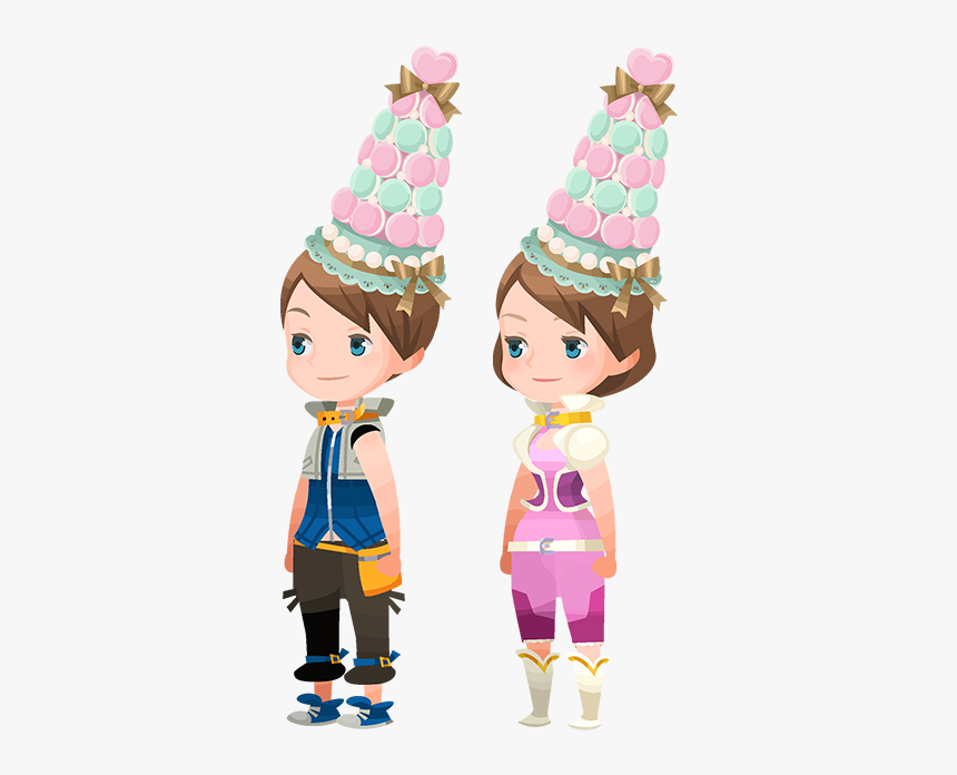 Macaroon Tower Hat - Kingdom Hearts Union X Avatar Outfits, HD Png Download, Free Download