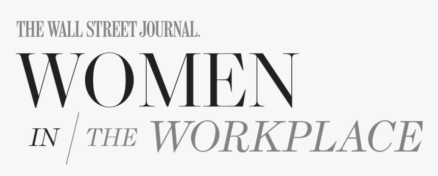 The Wall Street Journal Logo Png - Wall Street Journal Women In Series, Transparent Png, Free Download