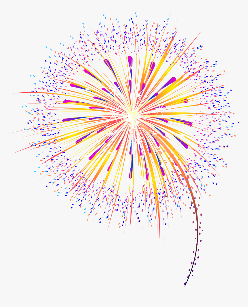 Free Animated Fireworks Gifs Clipart And Firework Animations Gif Animation Transparent Background Firework Gif Hd Png Download Kindpng