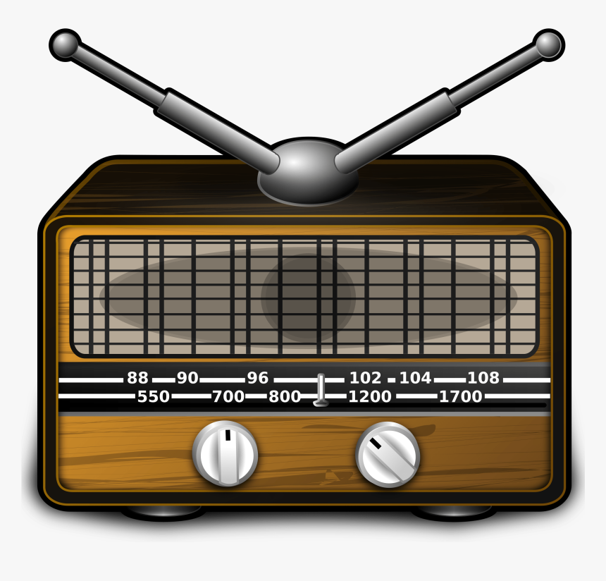 Old Fashioned Radio Clipart, HD Png Download, Free Download