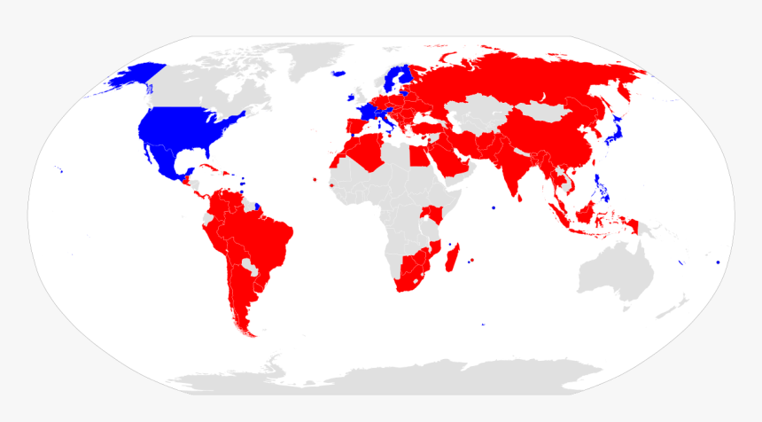 World Map European Union, HD Png Download - kindpng