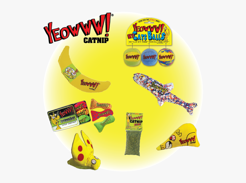 Floppycats Yeowww Giveaway Prize Pack 10th Anniversairy - Banana, HD Png Download, Free Download