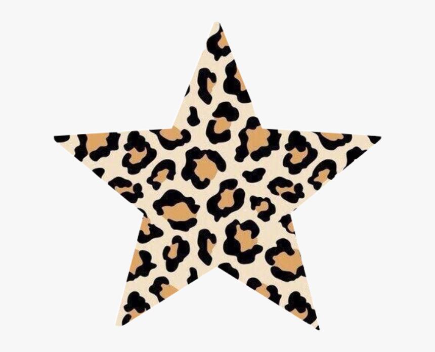 #leopard #leopardprint #skin #animal #animals #animalskin - Vsco Stars Transparent, HD Png Download, Free Download
