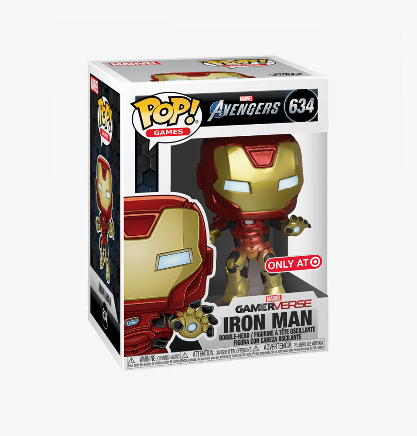 Funko Pop Avengers Game, HD Png Download, Free Download