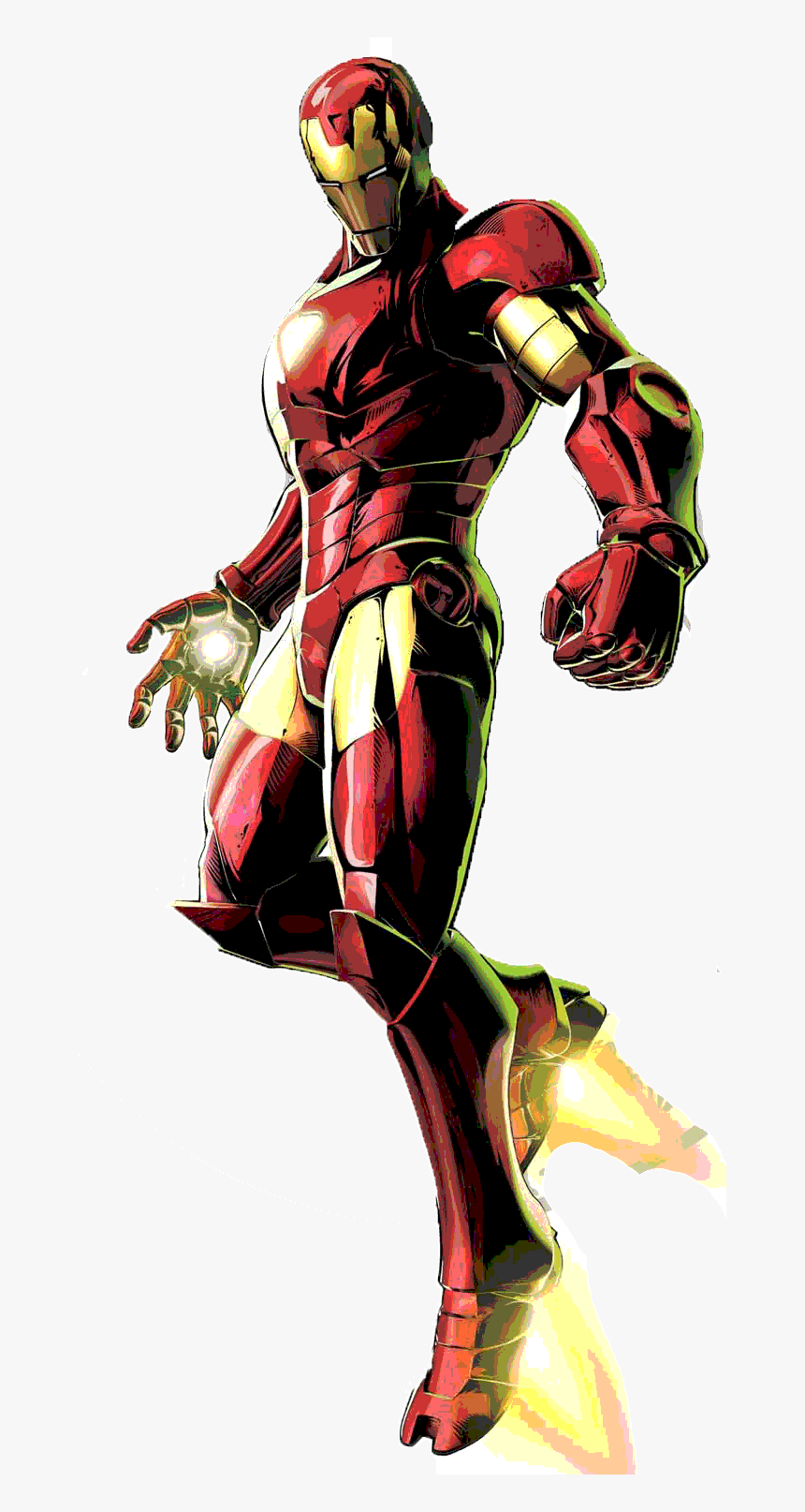 Weapons And Paraphernalia - Marvel Vs Capcom 3 Iron, HD Png Download, Free Download