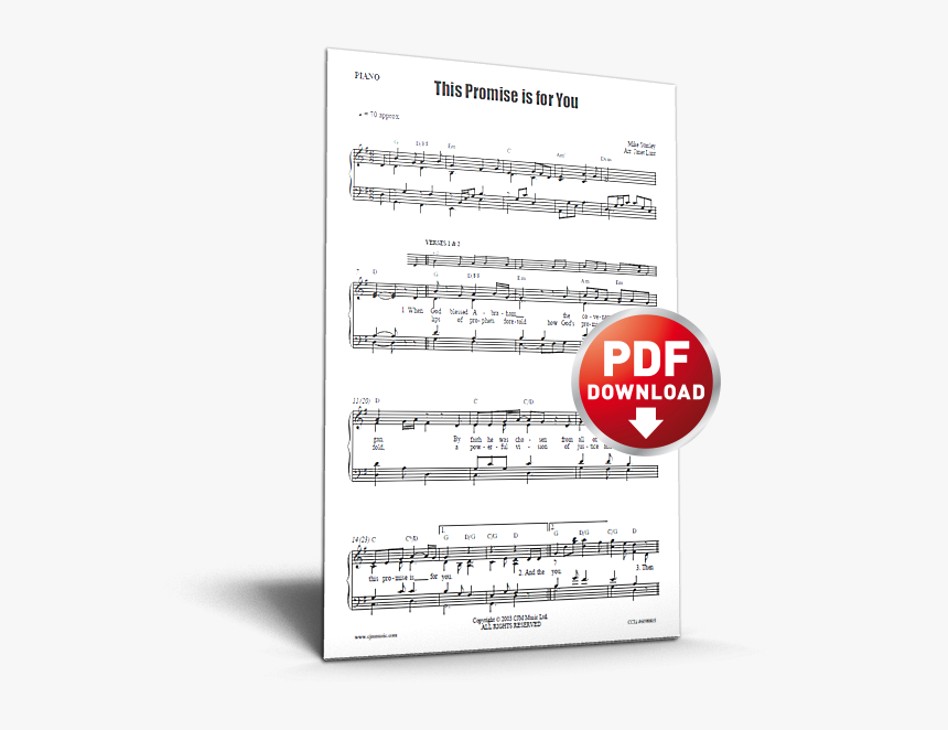 This Promise Is For You - Pdf This Town Piano Sheet Music, HD Png Download, Free Download