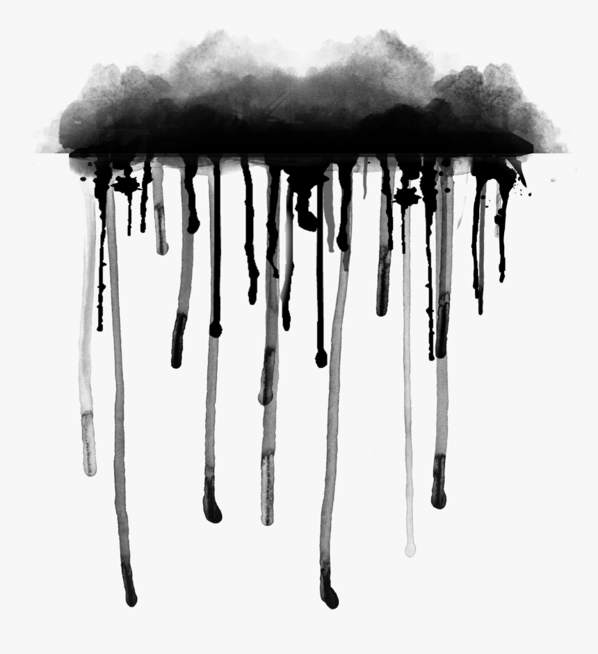 #black #colorsplash #color#splash #drops #down #aquarelle - Picsart Black Colour Splash, HD Png Download, Free Download